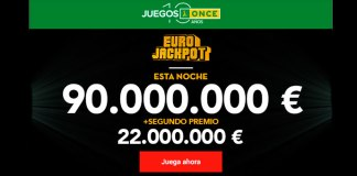Esta noche reparten 112.000.000 € en botes del Eurojackpot