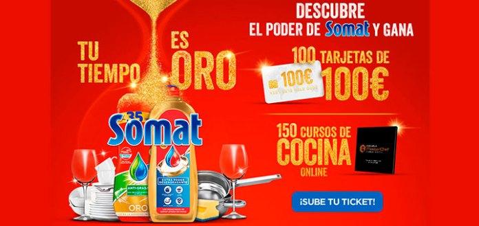 Sortean 100 tarjetas de 100€ y 150 cursos de cocina