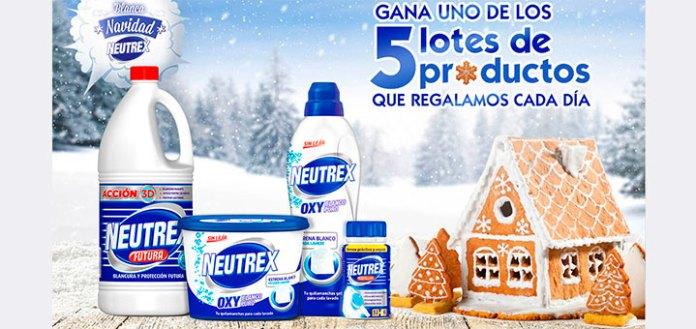 Regalan 5 lotes de productos Neutrex cada día