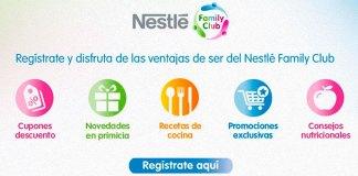 Disfruta de Nestlé Family Club