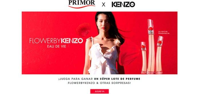 Gana un súper lote de perfume Flower By Kenzo con Primor
