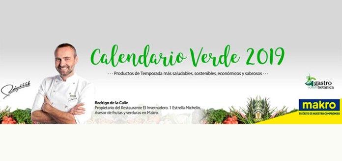 Gratis Calendario Verde 2019 con Makro