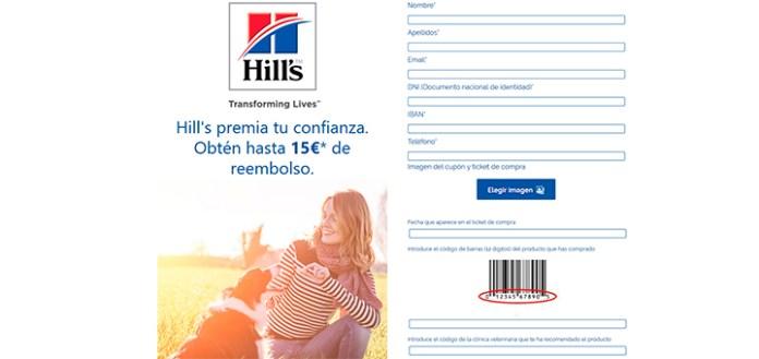 Hasta 15€ de reembolso con Hill's