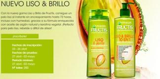 Prueba gratis la nueva gama Liso & Brillo de Fructis