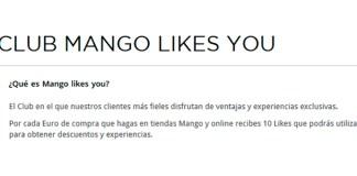 Ahorra con Club Mango Likes You
