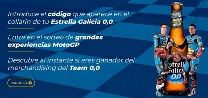 Entra en el sorteo de experiencias MotoGP con Estrella Galicia 0,0