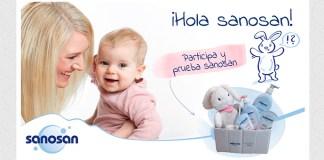 Gana un lote de productos Sanosan para bebés