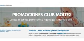 Moltex sortea 3 meses de pañales gratis en TodoPapás Loves