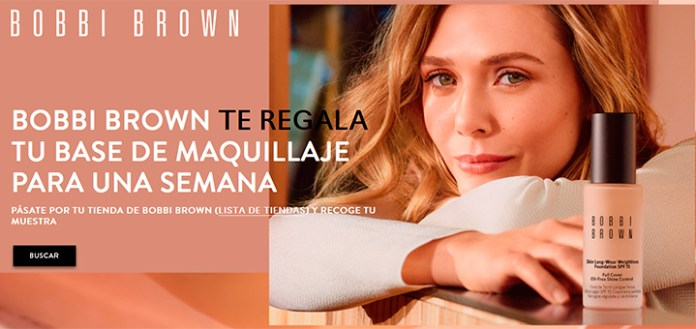 Muestras gratis de Bobbi Brown