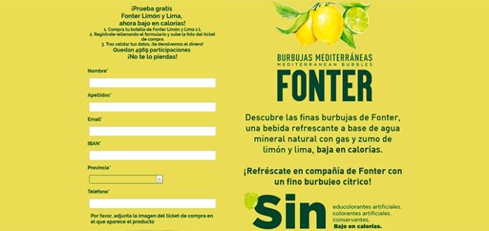 Prueba gratis Fonter Burbujas Mediterráneas