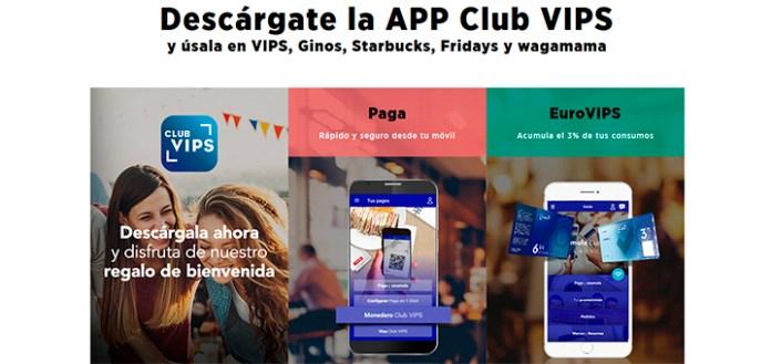 Ventajas con la App Club Vips