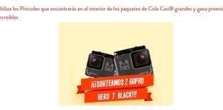 Cola Cao sortea 2 GoPro Hero 7 Black