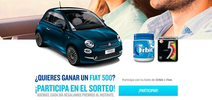 Gana un Fiat 500 con Orbit