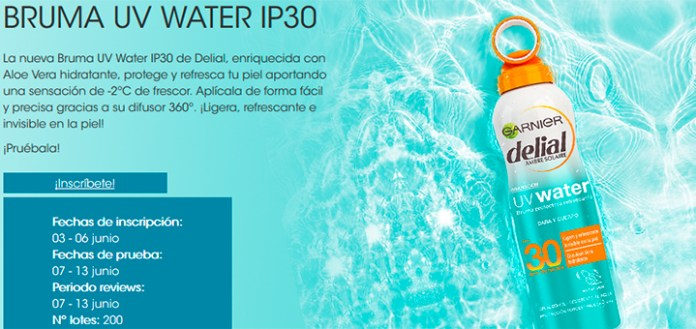 Prueba gratis Bruma UV Water IP30