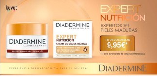 Prueba gratis Diadermine Expert Nutrición con Kuvut