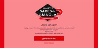 Sortean 5 lotes de productos Juanola