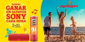Gana un altavoz Sony cada hora con Pringles