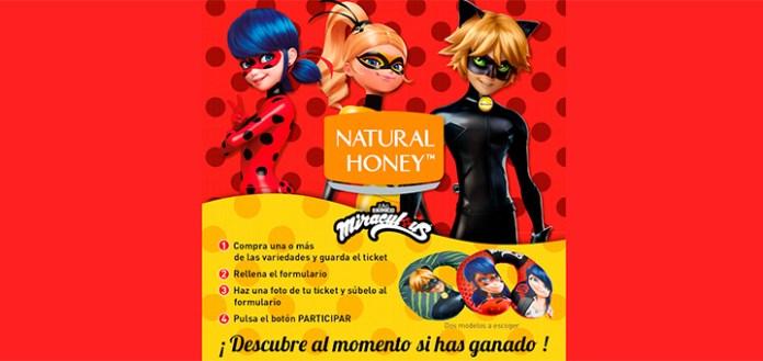 Natural Honey sortea 1.000 cojines cervicales