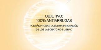 Lierac da a probar gratis su novedad 100% antiarrugas
