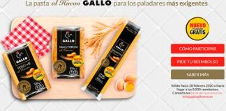 Prueba gratis la pasta al huevo Gallo