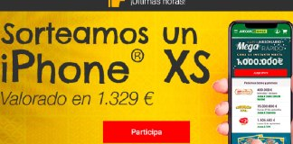 Juegos ONCE sortea un iPhone XS