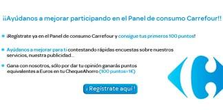 Gana 10 euros en tu cheque ahorro de Carrefour