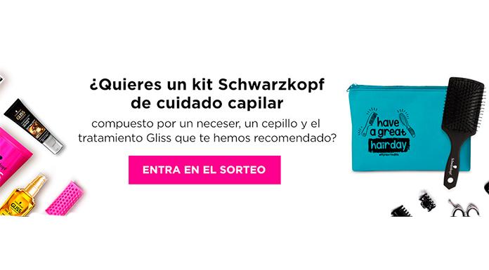 Gana un kit Schwarzkopf de cuidado capilar
