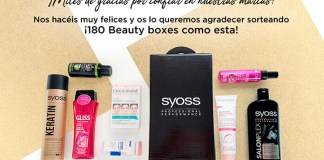 En Club Schwarzkopf sortean 180 Beauty Boxes