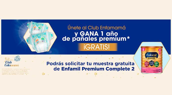 Gana 1 año de pañales premium con Club Enfamamá