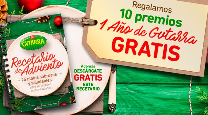 Regalan 10 premios de 1 año de Gvtarra gratis