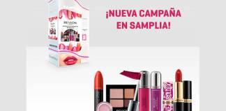 Samplia da a probar gratis maquillaje Revlon