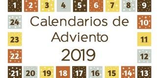 Calendarios de adviento 2019