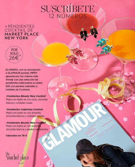 Regalos suscripción revista Glamour enero 2020