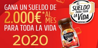 Gana el Sueldo Nescafé 2020 para toda la vida