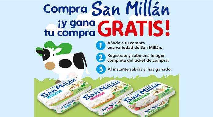 Gana tu compra gratis con San Millán