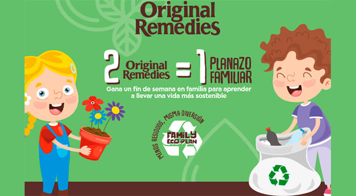 Gana un fin de semana sostenible con Original Remedies