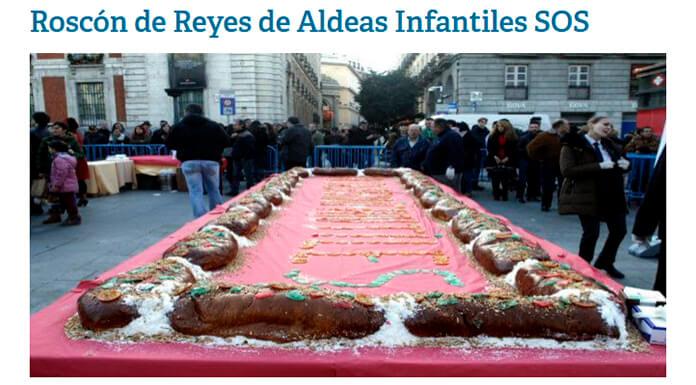 Roscón de Reyes gratis en Madrid