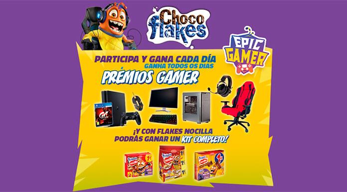 Gana cada día premios Gamer con Choco Flakes