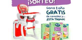 Hero Baby sortea 1 año gratis de cereales y una trona