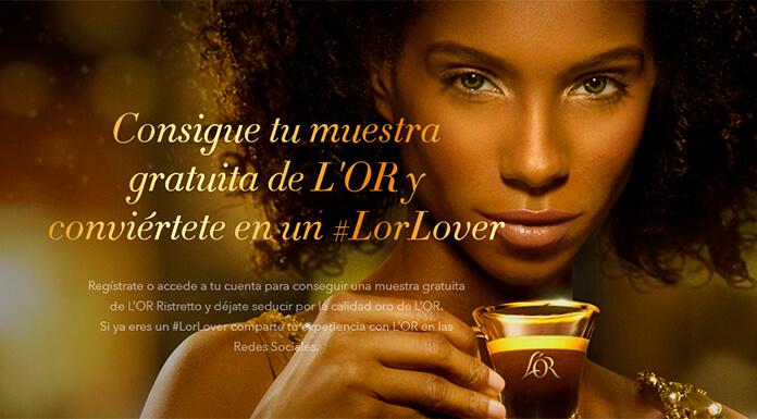 Muestras gratis de L'OR Ristretto de L'OR Espresso