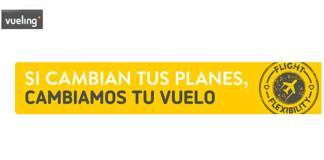 Cambia tu vuelo gratis con Vueling