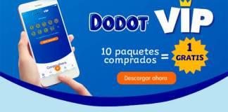 Por 10 paquetes Dodot comprados te llevas uno gratis
