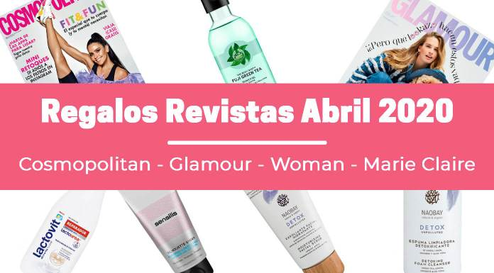 Regalos revistas Abril 2020