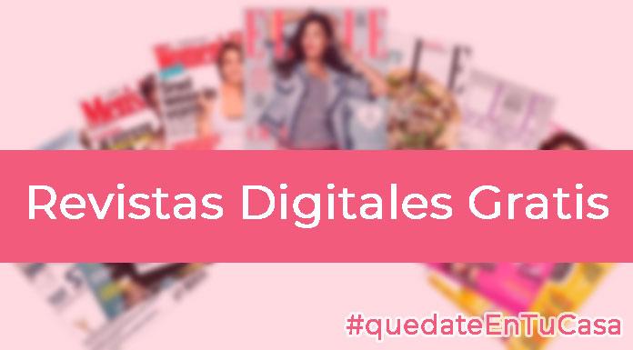 Revistas Digitales Gratis por el coronavirus #quedateencasa