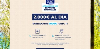 Font Vella sortea 2.000 euros al día