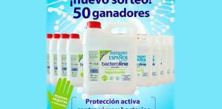 Instituto Español sortea 50 garrafas de Bacteroline