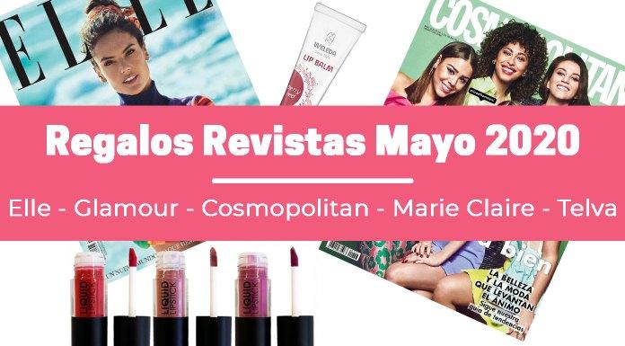Regalos Revistas Mayo 2020