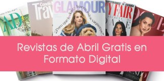 Revistas de Abril 2020 gratis en Formato Digital