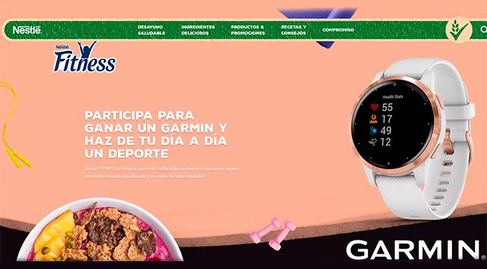 Gana un Garmin con Nestlé Fitness