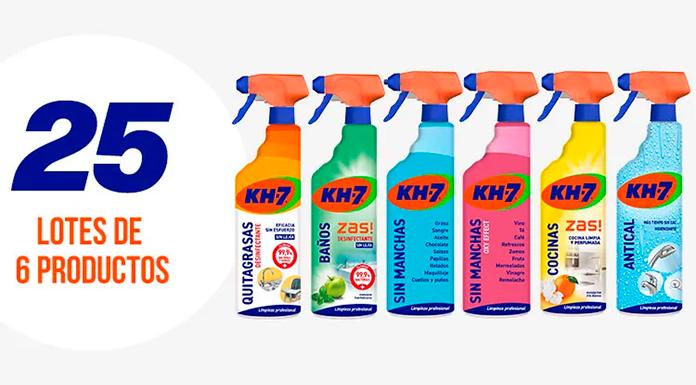 KH-7 sortea 25 lotes de productos